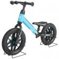"""Велобег """"Qplay"""" стальн. рама,12 дюйм. EVA колеса, светящ-ся диски, голубой"""