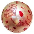 Мяч 22см, цвет в ассорт. в пак. в кор.500шт