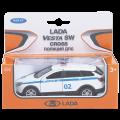 *Игрушка модель машины 1:34-39 LADA VESTA SW CROSS полиция ДПС
