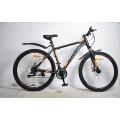 """27,5"""" Велосипед Rook MS270D-BK/OG черный/оранжевый"""