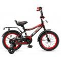 """14"""" Велосипед ONIX-M14-1 (черно-красный)"""