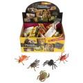 Игрушка пластизоль Играем вместе насекомые 8-11см, 12 асс., с хэнтэгом в диспллее уп-60шт в кор.12уп