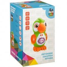 Умный попугай BABY YOU Bondibon, свет.,музык.,обучающие функций, сенсор. кнопки, арт.7496.