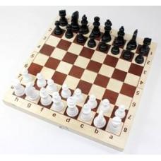 """Игра настольная """"Шахматы"""" (деревянная коробка, поле 29см х 29см)"""