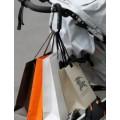 Карабин-помощник для сумок на дет коляску