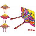 Воздушный змей с катушкой 125х63 см 3 цвета