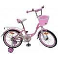 """14"""" Велосипед NAMELESS LADY (роз/бел)"""