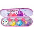 *Princess Игровой набор детской декоративной косметики для ногтей в пенале мал.