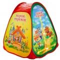 """Палатка детская игровая """"теремок"""",  81x91x81см, в сумке Играем вместе в кор.24шт"""
