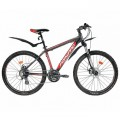 """26"""" Велосипед FORWARD NEXT 2,0 disk алюм.21ск.рост19 (черный мат)"""