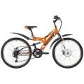"24"" Велосипед Stinger FOXX FREELANDER 14 рама (оранжевый)"