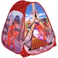 Палатка детская игровая Леди Баг и Супер кот 81x91x81см, в сумке Играем вместе в кор.24шт