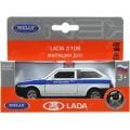 *Модель машины 1:34-39 LADA 2108 милиция ДПС.