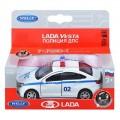 *Модель машины 1:34-39 LADA VESTA полиция ДПС