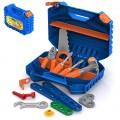 Набор инструментов с конструктором (47 элементов в чемодане)