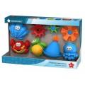 Игрушки для ванны (в инд.коробке) Водная серия