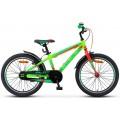 """20"""" Велосипед Stels Pilot 250 Gent 11 рама (Неон-зеленый/неон-красный) V010"""