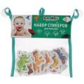 Игрушка для ванны Капитошка н-р стикеров ЕВА домашние животные