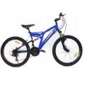"""24"""" Велосипед AVENGER F244D (синий/черный)"""