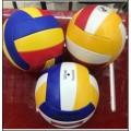 """Мяч волейбольный """"STARTeam"""" PVC, двухслойный, вес 260 гр, 3 цвета в ассорт. в/п диаметр 21 см."""
