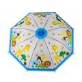 """Детский зонт, 50cм, """"Животные"""",  ПВХ"""