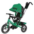 Велосип 3-х кол надув кол накл спин (зелен)