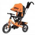 Велосип 3-х кол надув кол накл спин (оранж)