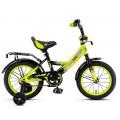 """14"""" Велосипед MAXXPRO M14-2 (салатово-черный)"""