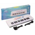 """Синтезатор """"Соната"""" с микрофоном, руссиф., инструкция, панель. 37 клавиш, 8 тембров, 7 ритмов."""