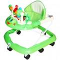 Ходунки Игротека.8силикон.колес,муз,свет.зеленые