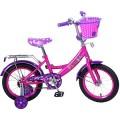 """14"""" Велосипед Mustang Filly розов/фиолет"""