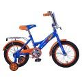"14"" Велосипед Mustang Hot Wheels син/оранж"