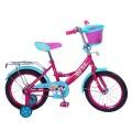 """16"""" Велосипед Mustang Барби розов/бирюз"""