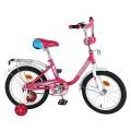 "16"" Велосипед Mustang розов/бел"