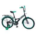 "20"" Велосипед Mustang черн/зелен"