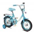 """12"""" Велосипед MAXXPRO Sofia бел/голуб"""