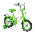 """12"""" Велосипед MAXXPRO Sofia бел/зелен"""