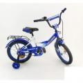 """16"""" Велосипед MAXXPRO син/бел"""