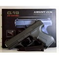 А Пистолет метал в коробке G19