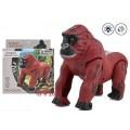 Животное на батарейках горилла со звуком и светом, в/к 18*9*20 см