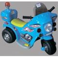 Мотоцикл аккумул (6V,4Ah) синий