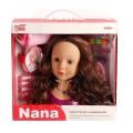 Голова куклы для создания причесок с аксессуарами ZY798602